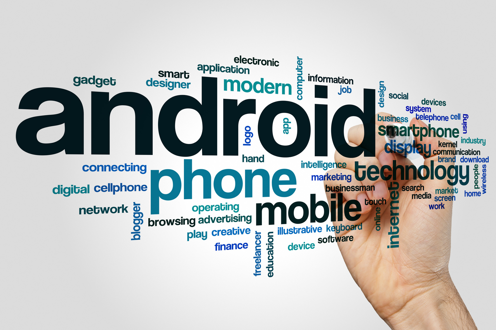 Android word cloud