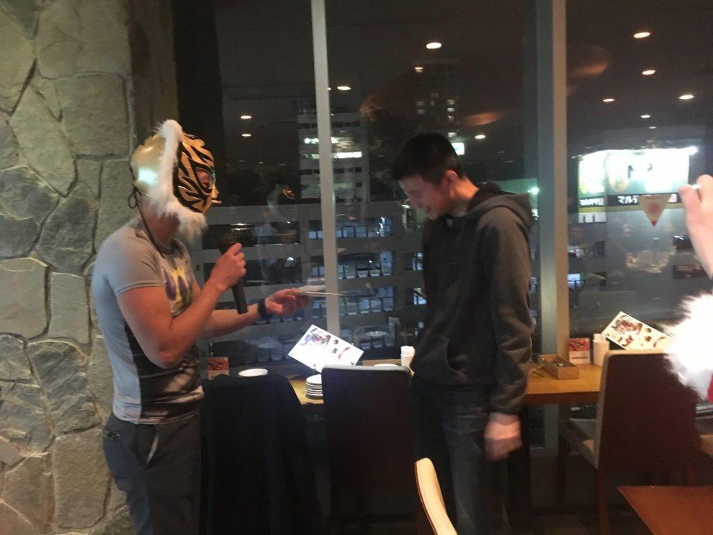 2017年度INDETAIL忘年会 タイガーマスク