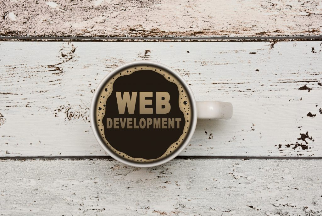 コーヒーとWEB DEVELOPMENT