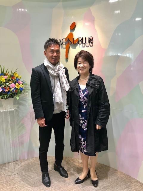 坪井大輔とイマジンプラス笹川社長